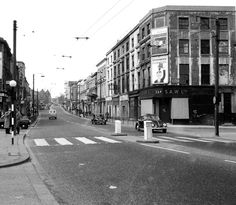 Harrow Road, Bourne Terrace to The right.