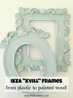 Want to see how I turned plastic wall art into pretty painted wood? On a recent shopping trip to IKEA in Philadelphia (only an hour-ish away for us), I foundthese beautiful IKEA KVILL frames that...