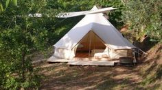 Kodiak Canvas Tents - Flex-Bow and Cabin Designs - Ground Tarp Offer Bell Tent Camping, Campsite, Camping Gear, Kodiak Tent, Kodiak Canvas, Portable Shelter, Truck Tent, Canvas Tent, Gypsy Wagon
