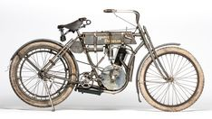 1907 Harley-Davidson Strap Tank shatters marque record at E.J. Cole Collection sale | Hemmings Daily