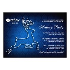 Corporate Holiday Party Invitations With Logo