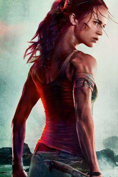 6b6c783d9a3bae Alicia Vikander Holds on For Dear Life in the New Tomb Raider Trailer. Alicia  Vikander Lara CroftTomb ...