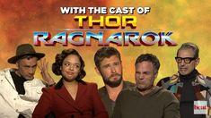 Taika reading the cast of Thor: Ragnarok's minds. Cast Of Thor, It Cast, Taika Waititi, Avengers, Interview, Marvel, Guys, Reading, Funny
