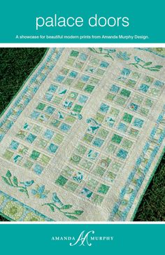 Image of Palace Doors- I love how simple, but pretty this quilt is. I may need to try it with Jaime's fabrics.