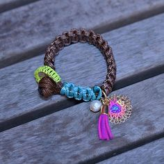 This bracelet is versatile and eye catching. Wear it for the office, school or beach. It will complement your look! Get it in our Etsy or Amazon store