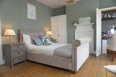 Exposing the floorboards - End of the Row Master Bedroom, Bedroom Decor, Bedroom Ideas, New Homes, Carpet, Flooring, Morning Coffee, Foundation, House Ideas