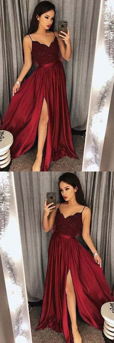 Green Prom Dresses,Burgundy Evening Gowns,Simple Formal Dresses,Prom Dresses,Teens Fashion Evening Gown,Navy Blue Party Dress