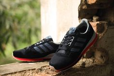 hot sale online 88ddd 30e8f 2015 Jul B24821 adidas Originals ZX 500 OG hombres Negro Gris rojo  Corriendo Sneakers DESCUENTO