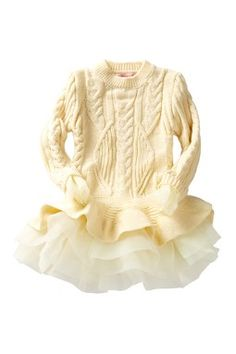 Flounce Sweater Tutu Tunic (Toddler, Little Girls, & Big Girls)
