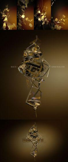 Deus Ex Human Revolution : Visual direction drafts on Behance