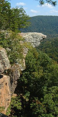 Hawksbill Crag/Whittaker Point Newton County, Arkansas