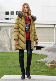 Canada Goose Jackets, Winter Jackets, Lady, Collection, Fashion, Winter Coats, Moda, Fashion Styles, Fashion Illustrations