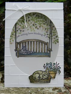 Sitting Here, Sheltering Tree van Stampin'Up! www.stamp-ing.blogspot.nl
