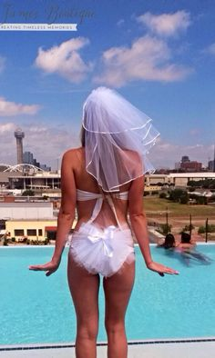 Bachelorette Party Set Booty veils and by KayJamesBoutique, $68.00