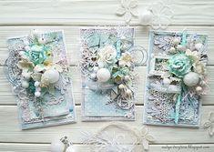 Последние открыточки этой зимы)) | Handmade by Nadya Drozdova | Bloglovin'
