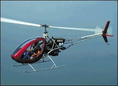 Helicycle: a single-seat turbine-powered homebuilt helicopter