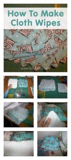 This tutorial for making cloth wipes for your baby is a great way to make cloth diapering easier for your family! Inexpensive, simple and eco-friendly diapering options are a great choice to save your family money.