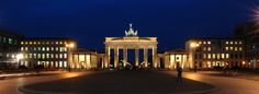 Brandenburg Gate: Berlin Few historic sites in Germany have such political, social and symbolic importance as the Romanesque gateway known as the Brandenburg Gate. Today, among other things, it is seen as a symbol of German reunification.
