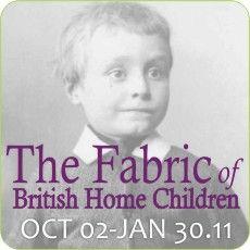 Galt Museum & Archives Exhibits - Fabric of Britsh Home Children