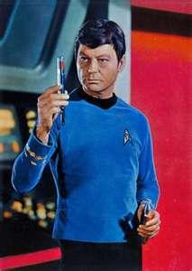 Star Trek - DeForest Kelley as Dr McCoy
