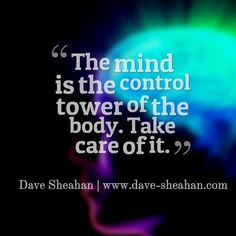 Mind is the control tower of the body! #mind #workout