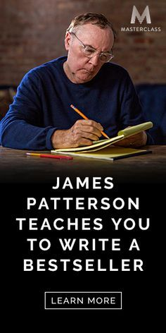 Writing course from James Patterson