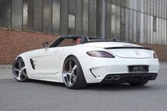 Head inside to GTspirit to check out the brand new Mercedes-Benz SLS AMG Roadster by MEC Design! Mercedes Auto, Mercedes Benz Amg, New Mercedes, Benz Car, Maserati, Bugatti, Ferrari, Lamborghini, Porsche