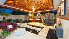 Home Interior Designs   Amazing Outdoor Bathroom   Anna Nuttall