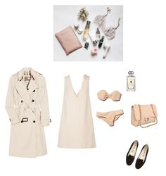 """Без названия #477"" by ya-irchy ❤ liked on Polyvore featuring Burberry, Tomas Maier, Chanel, Jo Malone and Valentino"