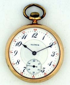 elgin watch company identification and price guide