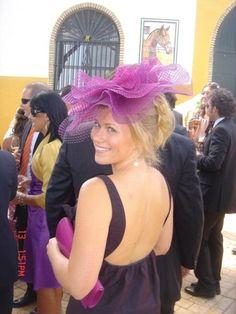 #Tocado de #Cherubina #casilda se casa #headpiece #hat #wedding #boda
