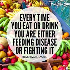 """SO TRUE!!! There is something to the old saying """"you are what you eat!"""""""