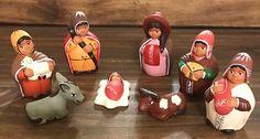 Un favorito personal de mi tienda Etsy https://www.etsy.com/es/listing/480992304/cute-nativity-8-pieces