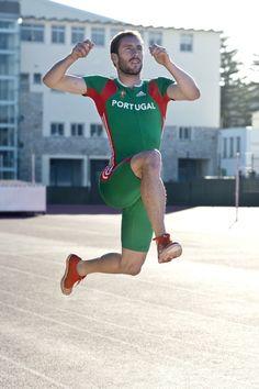 Representing Portugal, MARCOS CHUVA. PB: 8,34m (Long Jump)
