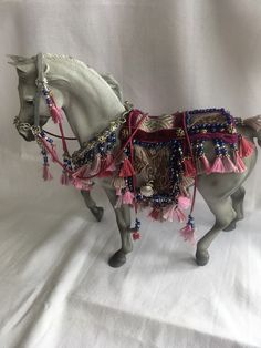 Model Horse Tack by Yerlin - Arabian Set for CollectA Deluxe Model