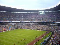 Mexico, City Soccer Stadium El Estadio Azteca   IMPRESIONANTE!!
