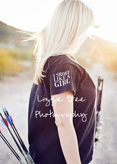 For Naomi=Lizzie Bee Photography » Blog » shoot like a girl Senior Posing Archery