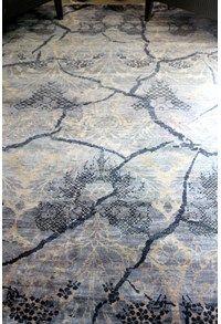 Modern Collection,The Carpet Cellar,Erased Luxe Collection Silk<br>A-234<br>7.11 Feet X 5.6 Feet