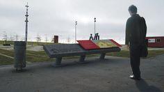 Proyecto presentado a concurso para la señalética del Parque de la Memoria.