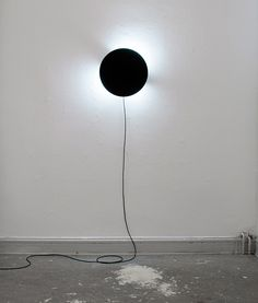 Movement of a Moment by Jesper Jonsson is a dynamic light concept that shows traces of time.