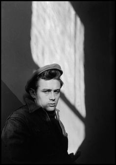 James Dean doing his best Marlon Brando – Dennis Stock, 1955. © Dennis Stock/Magnum Photos