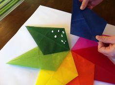 Photo 20 of 24: rainbows, art / Birthday rainbow art party | Catch My Party