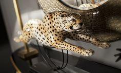 Running Cheetah #abhika #interiordesign #decor #luxury