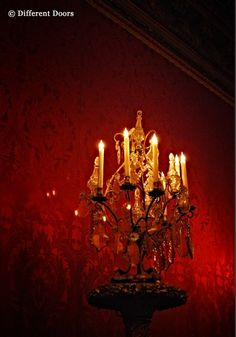 candlelight with a gothic touch