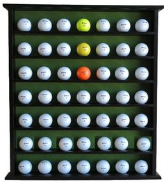 Golf Gift 49Ball Cabinet Display Case Rack No Door Black GB20BL *** You can get additional details at the image link. Note:It is Affiliate Link to Amazon.