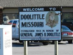 Sign at Doolittle