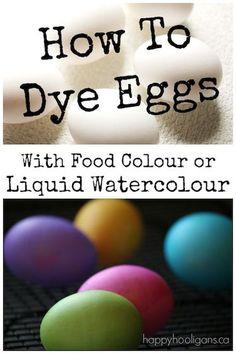 Let's dye some Easte