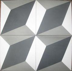 Cubist tiles