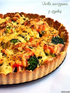 Cooking Time, Cooking Recipes, Healthy Recipes, Quiche, Good Food, Yummy Food, Main Meals, I Foods, Vegetable Pizza