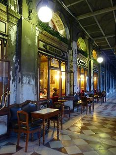 Cafe Florian, St Marks Square, Venice. Amazing experience, a place to enjoy. This picture is taken on March 15/2014 by Str@nger! Enjoy More cool place's on www.spotforever.com